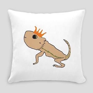 Royal Lizard Everyday Pillow