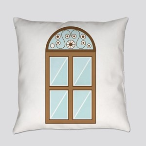 Decorative Window Everyday Pillow