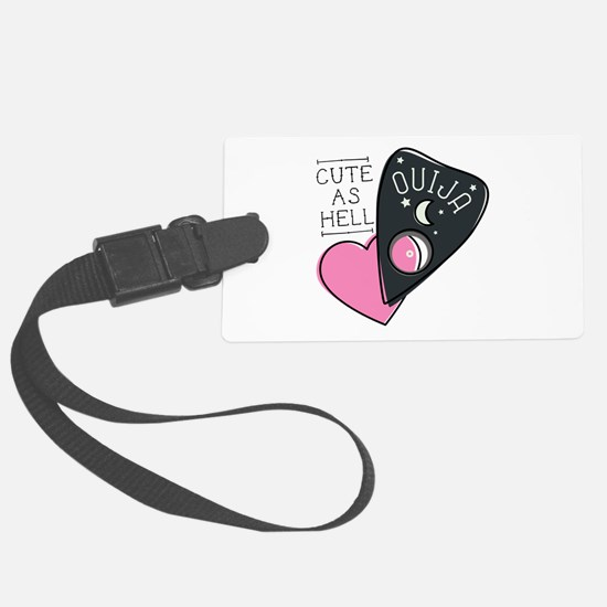 Cute As Hell Luggage Tag