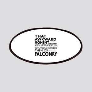 Falconry Awkward Moment Designs Patch
