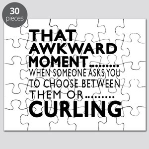 Curling Awkward Moment Designs Puzzle