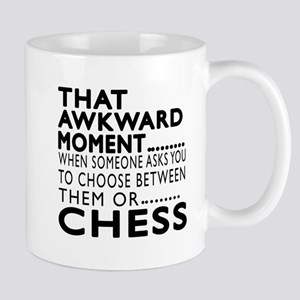 Chess Awkward Moment Designs Mug