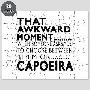 Capoeira Awkward Moment Designs Puzzle