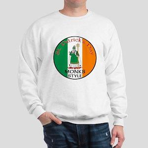Monks, St. Patrick's Day Sweatshirt