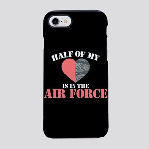 My Heart is in the Air Force iPhone 8/7 Tough Case