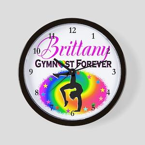 GREAT GYMNAST Wall Clock