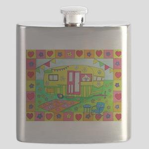 Glamping Camper Flask