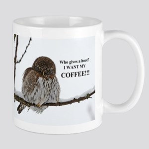 Coffee Owl Mugs