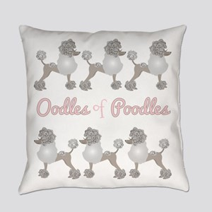Oodles Of Poodles Everyday Pillow