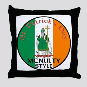 Mcnevins, St. Patrick's Day Throw Pillow