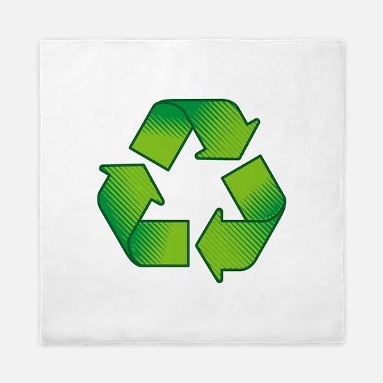 Cute Recycle Queen Duvet
