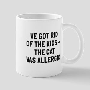 Cat was allergic Mug