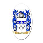 Pawlowicz 35x21 Oval Wall Decal