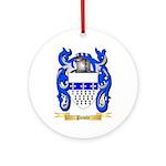 Pawle Round Ornament