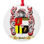Pawel Round Ornament