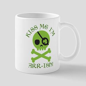 Kiss Me I'm Arr-ish Mug