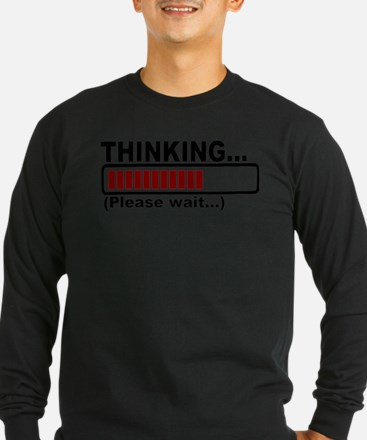 thinking,please wait.png Long Sleeve T-Shirt