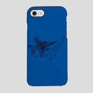 Air Force Logo Jet iPhone 8/7 Tough Case