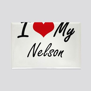I Love My Nelson Magnets