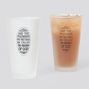 BLESSED ARE... Drinking Glass