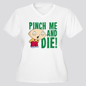 321d0102a42 Family Guy St Patricks Day Office Supplies Women s Plus Size T ...