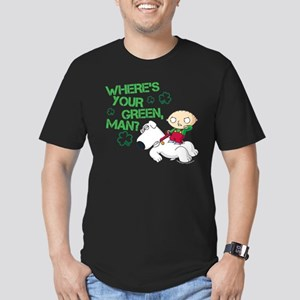 Family Guy Where's You Men's Fitted T-Shirt (dark)
