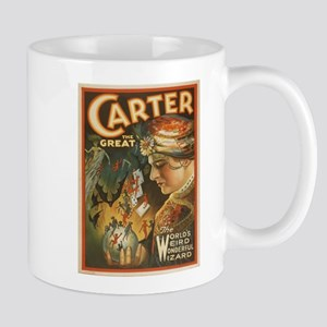 Vintage poster - Carter the Great Mugs