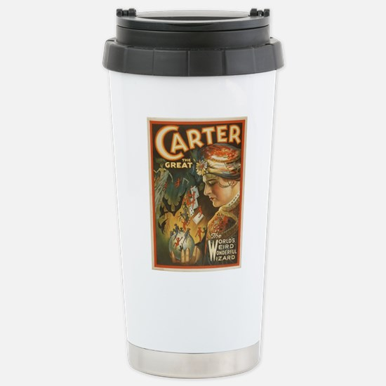 Vintage poster - Carter Stainless Steel Travel Mug