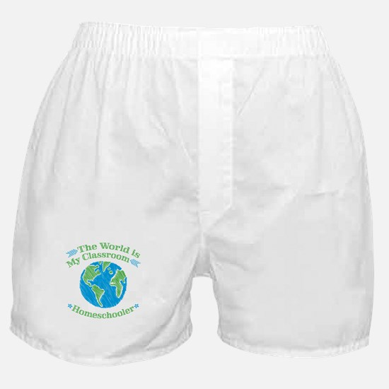 Cute Homeschooling Boxer Shorts