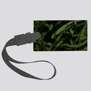 Green Beans Large Luggage Tag