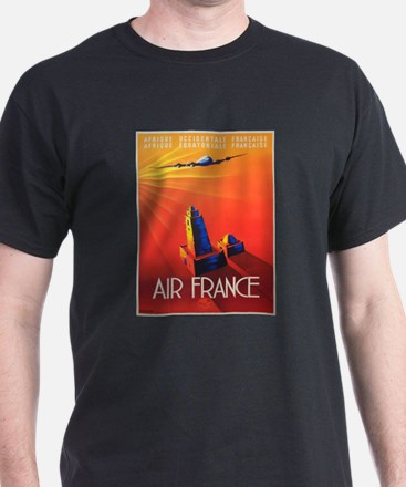 Vintage poster - Air France T-Shirt