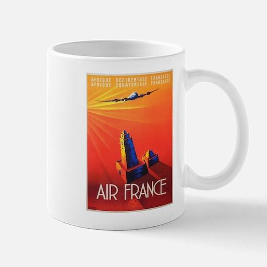 Vintage poster - Air France Mugs