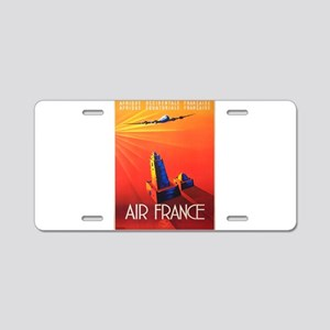 Vintage poster - Air France Aluminum License Plate
