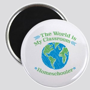 World is My Classroom Magnets