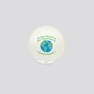 World is My Classroom Mini Button