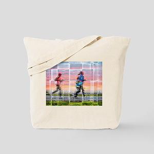 Women running Tote Bag