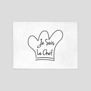 Je Suis Le Chef 5'x7'Area Rug