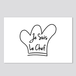 Je Suis Le Chef Postcards (Package of 8)