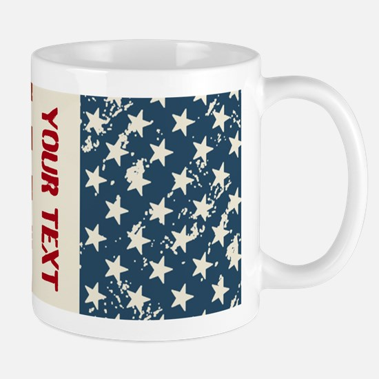 Personalize Flag Mugs