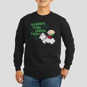 Family Guy Where's Your G Long Sleeve Dark T-Shirt