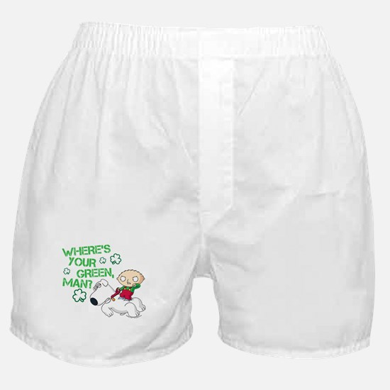 Family Guy Where's Your Green Boxer Shorts