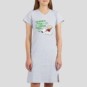 Family Guy Where's Your Green Women's Nightshirt