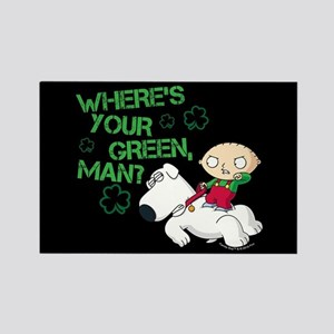Family Guy Where's Your Green Rectangle Magnet