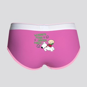 Family Guy Where's Your Green Women's Boy Brief