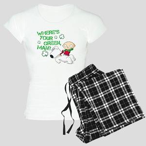 Family Guy Where's Your Gre Women's Light Pajamas