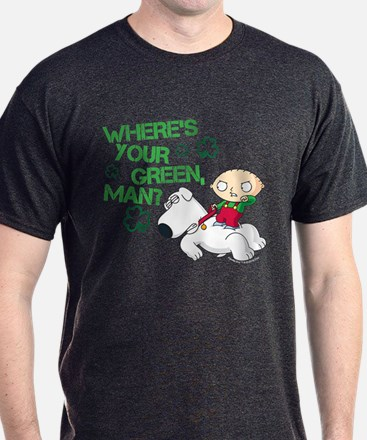 Family Guy Where's Your Green T-Shirt