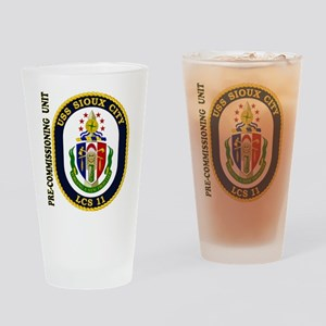 PCU Sioux City Drinking Glass