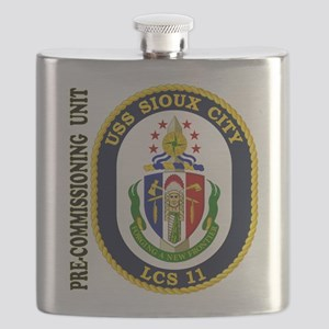 PCU Sioux City Flask