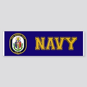 USS Sioux City Sticker (Bumper)