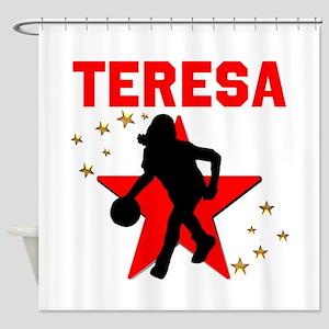 BASKETBALL STAR Shower Curtain